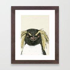 Macaroni Penguin Framed Art Print