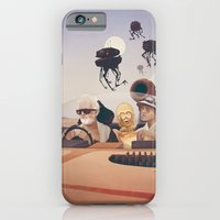 iPhone Cases featuring Fear and Loathing on Tatooine by Anton Marrast