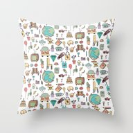 Just Things Throw Pillow