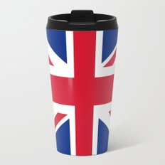 Union Jack Authentic color and scale 3:5 Version  Travel Mug