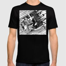 It's better than safe. It's death proof Black SMALL Mens Fitted Tee