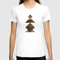 PAWN Womens Fitted Tee White SMALL