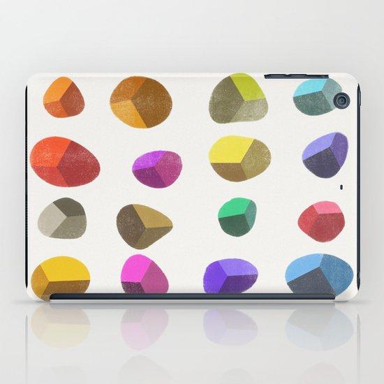 Painted Pebbles 2 iPad Case