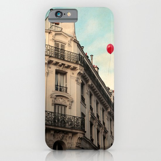 Balloon Rouge iPhone & iPod Case
