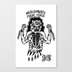 even death can die Canvas Print
