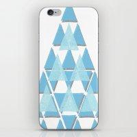 Blue Sky Mountain iPhone & iPod Skin