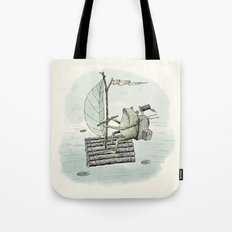 'Raft' (Colour) Tote Bag