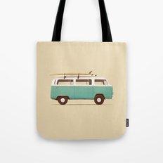 Blue Van Tote Bag