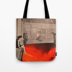 Play With Fire Tote Bag