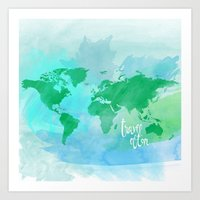 travel often.  Art Print