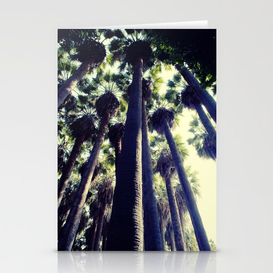 Palm Tree Stationery Card