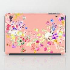 Soft bunnies pink iPad Case