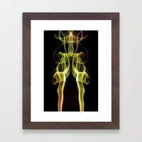 Smoke Photography #16 Framed Art Print
