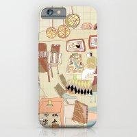 ---garden--cafe--- iPhone 6 Slim Case