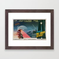 In Search of the Cursed Artifact Framed Art Print
