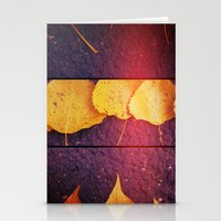 Autumn Is Close Stationery Cards