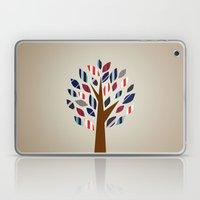 Striped Tree - Digital W… Laptop & iPad Skin