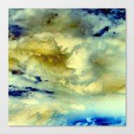 Solo Flight, Inverted Canvas Print
