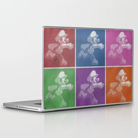 Super Mario Pop Laptop & iPad Skin