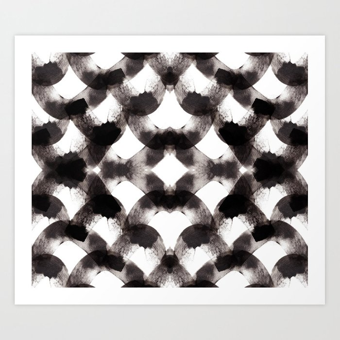 ecailles art print by eva bellanger society6. Black Bedroom Furniture Sets. Home Design Ideas