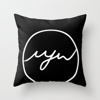 MJW INVERTED Throw Pillow
