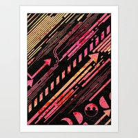 No Direction Pt. One Art Print