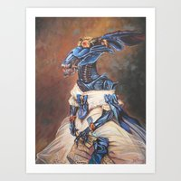 Duchess of Xenoshire Art Print