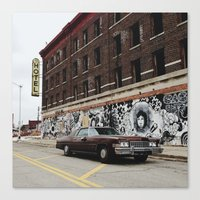 Hotel Roosevelt - Detroit, MI Canvas Print