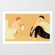 Potty Art Print