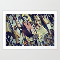Love Locks Art Print