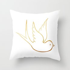 Love Like A Dove Throw Pillow