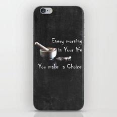 Make a Choice iPhone & iPod Skin