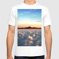 Sunrise Mens Fitted Tee White SMALL