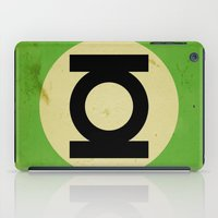 Green Lantern (Super Min… iPad Case