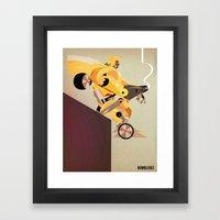 Oops (BumbleBee) Framed Art Print