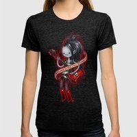 Sorry Im Not  Made Of Su… Womens Fitted Tee Tri-Black SMALL