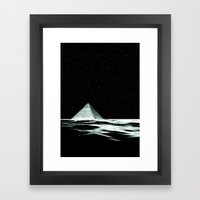 piramid song Framed Art Print