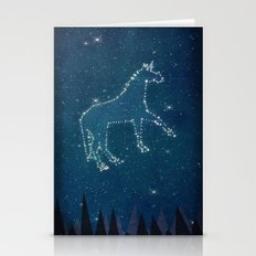 Constellation Unicorn Stationery Cards