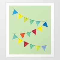Hurray for boys! Art Print
