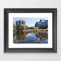 Yosemite Valley Framed Art Print