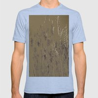 Thin Branches Sepia Mens Fitted Tee Athletic Blue SMALL