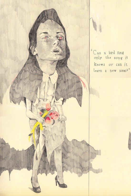 queenofthevampires Art Print