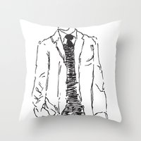 Standing Is Fun Throw Pillow