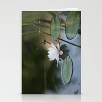 Water Lily 2 Stationery Cards