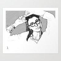 Cosima Art Print