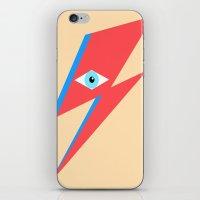 David Bowie  |  Ziggy St… iPhone & iPod Skin
