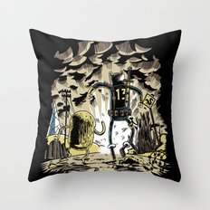 Wasteland Time Throw Pillow