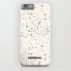 Retro Speckle Print - Bone iPhone 6s Slim Case
