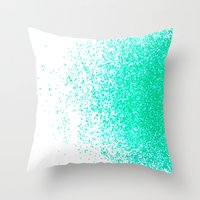 Fresh Mint Flavor Throw Pillow