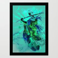 Life Through Death Art Print